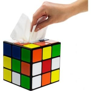 Boîte à mouchoirs Rubiks Cube Big Bang Theory